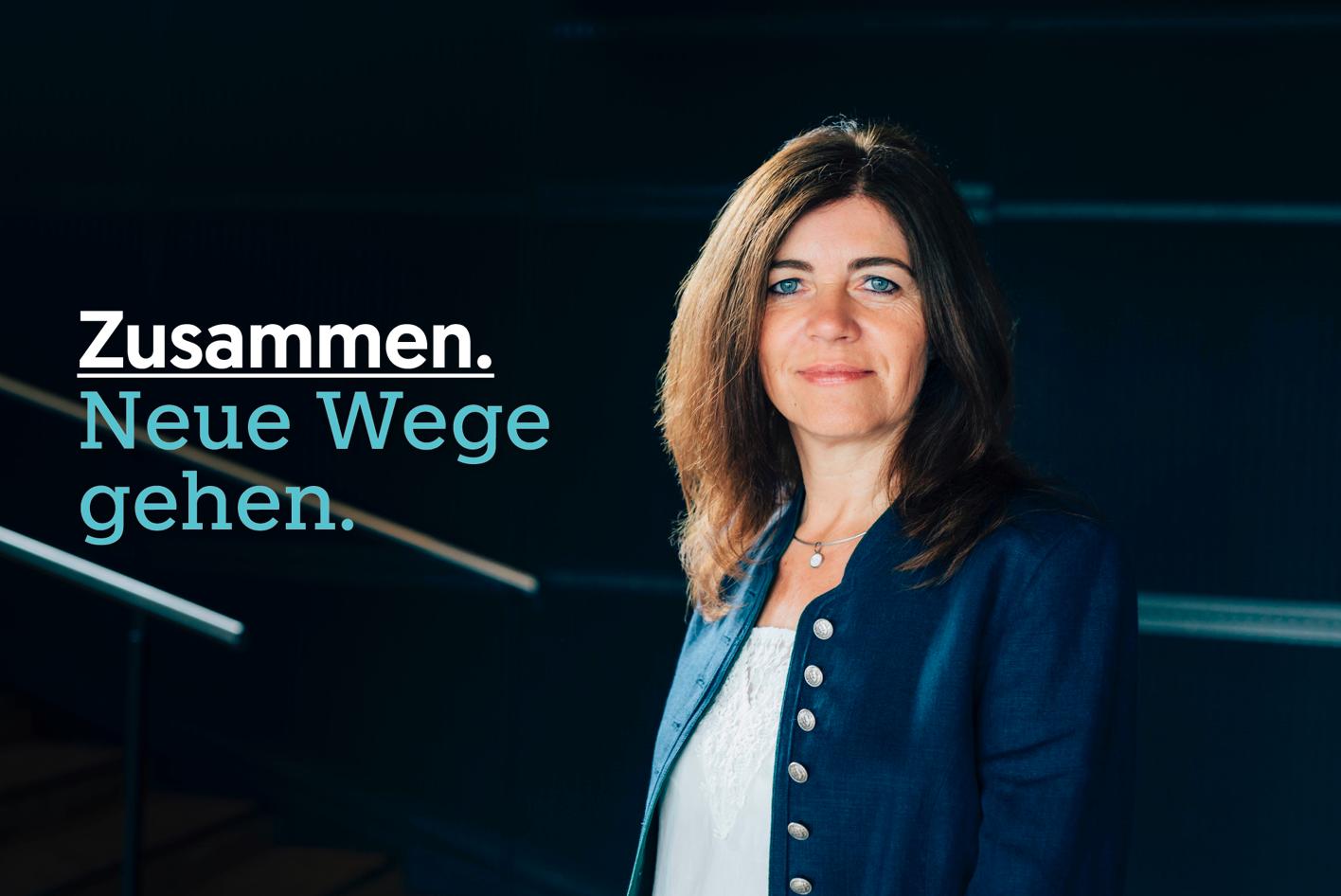 Angela Baumgartner - Kandidatin der ÖVP